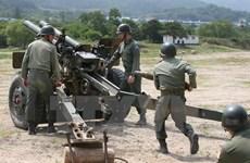 Quân đội Hàn Quốc tiến hành cuộc tập trận hỗn hợp thực địa