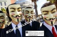 Anonymous đánh sập trang web Văn phòng Chính phủ Thái Lan