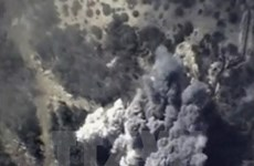 Không quân Nga phá hủy kho đạn dược lớn của khủng bố ở Syria