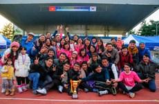 Sôi động giải bóng đá của sinh viên Việt Nam tại Hàn Quốc