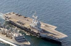 Tàu sân bay hạt nhân Pháp tiến hành trinh sát ở Địa Trung Hải