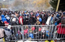 """Macedonia cảnh báo """"nguy cơ mất an ninh"""" ở biên giới với Hy Lạp"""
