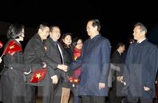 Thủ tướng Nguyễn Tấn Dũng thăm làm việc tại Vương quốc Bỉ và EU