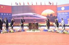 Lào khởi công xây dựng tuyến đường sắt 6 tỷ USD nối với Trung Quốc