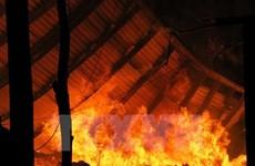Ðồng Nai: Hỏa hoạn lớn thiêu trụi nhà xưởng rộng hơn 1.000m2