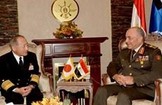 Nhật Bản tăng hợp tác quân sự với các lực lượng vũ trang Ai Cập