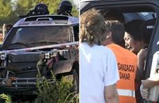 Tay đua Trung Quốc gây tai nạn ở Rally Dakar do bị mất lái