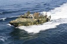 Iran quyết định đã thả hai tàu tuần tra cùng 10 thủy thủ Mỹ