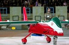 Máy bay do thám không người lái của Iran chụp ảnh tàu sân bay Mỹ