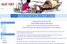 Nâng cấp website dạy tiếng Việt cho người Việt Nam ở nước ngoài