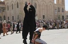IS gây sốc khi chặt đầu thiếu niên Iraq nghe nhạc phương Tây
