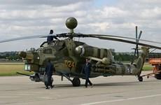 Nga triển khai các trực thăng tấn công Mi-28 và Ka-52 tại Syria