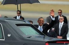 Tổng thống Mỹ Obama và phu nhân bắt đầu thăm chính thức Cuba
