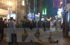 Trận động đất mạnh ở Nhật Bản làm hàng trăm người thương vong