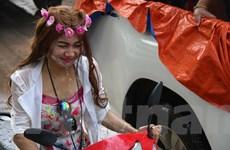 [Photo] Đặc sắc Lễ hội hội té nước tại Xứ sở Hoa Champa