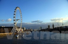 [Photo] Vẻ đẹp yên bình trong buổi chiều thơ mộng bên sông Thames