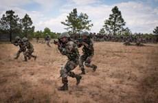 Ấn Độ kết thúc tập trận đổ bộ ở hai quần đảo chiến lược