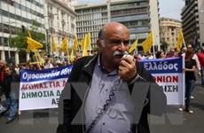 Dân Hy Lạp biểu tình phản đối cải cách thuế và lương hưu