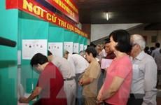 Hà Nội đã có 83 khu vực bỏ phiếu đạt 100% cử tri đi bầu cử