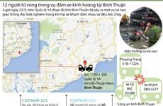 [Infographics] Nhìn lại vụ tai nạn giao thông kinh hoàng ở Bình Thuận