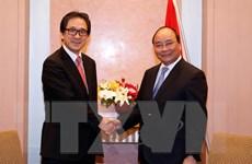Việt Nam cam kết tạo môi trường kinh doanh thuận lợi cho Nhật Bản