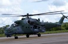 Pakistan mua máy bay trực thăng chiến đấu Mi-35 của Nga