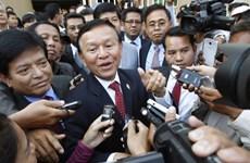 Campuchia bảo vệ hành động pháp lý của tòa án chống thủ lĩnh đối lập
