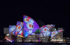 Mãn nhãn với những màn trình diễn ở Lễ hội ánh sáng Australia