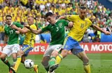 Những điểm nhấn trong cuộc chạm trán giữa Ireland và Thụy Điển