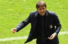 Huấn luyện viên Conte lập kỳ tích sau chiến thắng Thụy Điển