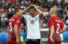 Tiền đạo Thomas Mueller tỏ ra kém duyên tại các kỳ EURO