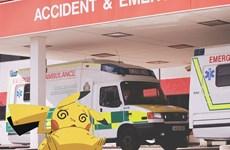 Trò chơi gây sốt Pokemon Go gây ra khá nhiều vụ tai nạn hy hữu