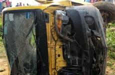 Tai nạn xe buýt thảm khốc ở Ấn Độ làm 10 học sinh thiệt mạng