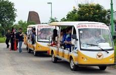 Quảng Bình thí điểm sử dụng ôtô điện vận chuyển du khách