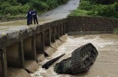 Đài Loan: Xe tăng rơi xuống sông khiến 3 binh sỹ thiệt mạng