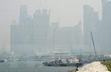 Khói mù bao trùm Singapore do các đám cháy rừng ở Indonesia