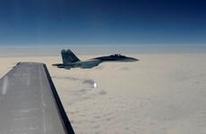 """Tiêm kích Nga có hành vi can thiệp """"không an toàn"""" máy bay Mỹ"""