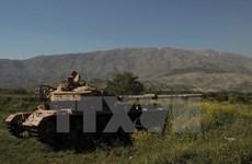 Đạn cối rơi trúng khu vực cao nguyên Golan do Israel kiểm soát