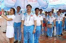 Lãnh đạo Đà Nẵng dự Lễ thượng cờ Đại hội thể thao bãi biển