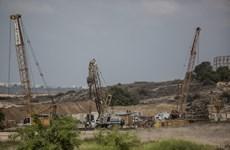 Israel sắp hoàn tất hàng rào an ninh ngầm dưới lòng đất với Gaza