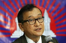 Hai thủ lĩnh đảng đối lập xin Quốc vương Campuchia ân xá