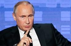 Tổng thống Nga Vladimir Putin chỉ trích Mỹ trong vấn đề Syria