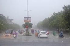 Áp thấp nhiệt đới đã đi sâu vào đất liền, Nam Bộ có mưa dông