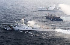 Hàn Quốc triệu quan chức quan Trung Quốc để phản đối vụ đâm tàu