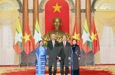 """""""Quan hệ hợp tác Việt Nam-Myanmar sẽ ngày càng phát triển hiệu quả"""""""