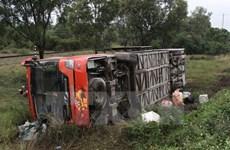Campuchia: Xe tải lật nghiêng làm hàng chục công nhân bị thương