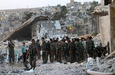 Quân đội Syria giành lại quyền kiểm soát một thành phố lớn
