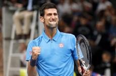 Paris Masters: Djokovic và Murray vào tứ kết, Nishikori bị loại