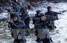 Hải quân Hàn-Mỹ-Nhật tập trận theo dõi tên lửa của Triều Tiên