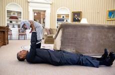 Những khoảnh khắc cực kỳ đáng yêu của Tổng thống Mỹ Barack Obama